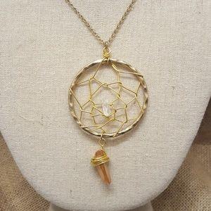 Jewelry - Dream Catcher Pendant Necklace
